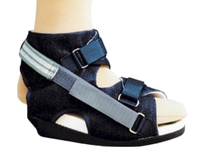Chaussures de décharge de l'arrière pied Sanital