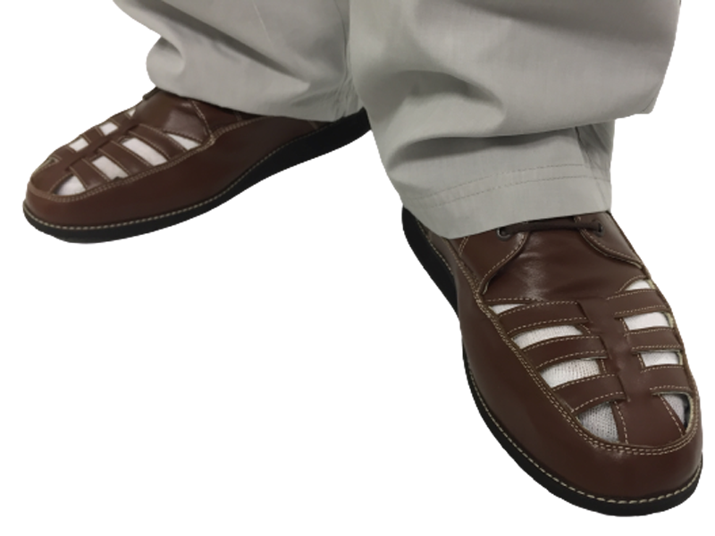 Chaussures orthopédiques brune