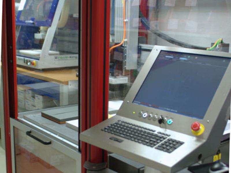 Fraise numérique pour usinage semelle thermo adaptée 3D