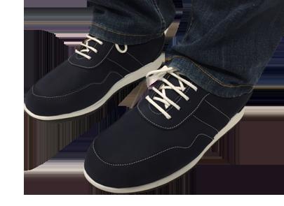 Chaussure orthopédiques noir podoconfort