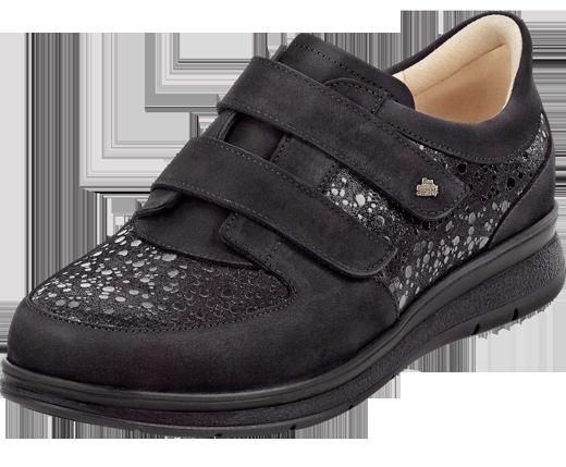 Chaussures orthopédiques Finn Comfort Reims noir